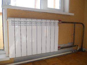 Отопительная батарея в квартире общая собственность или моя