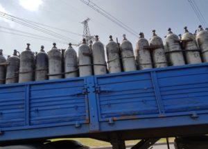 Перевозка аргона в баллонах автомобильным транспортом