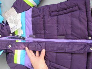 Можно ли вернуть куртку если нет ветрозащитной планки на молнии