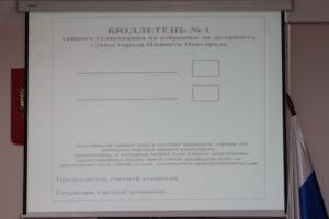 Бюллетень для тайного голосования образец