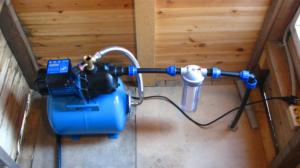 Слабый напор воды из скважины в частном доме причины