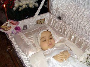 Как проходят похороны мертворожденного