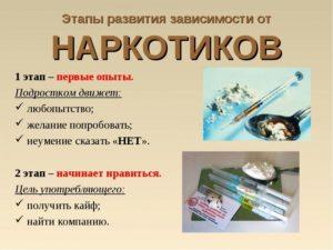 Сажают ли за употребление наркотиков