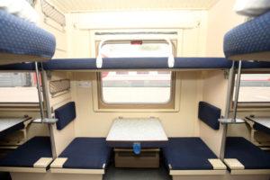 Боковушки в поезде плацкарт