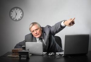 Если начальник угрожает увольнением