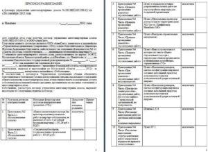 Протокол разногласий к доп соглашению образец