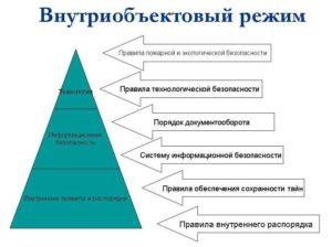 Определение пропускного и внутриобъектового режима
