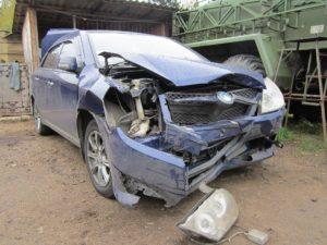 Грузовой автомобиль не подлежит восстановлению