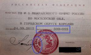 Наименование органа выдавшего документ паспорт что писать
