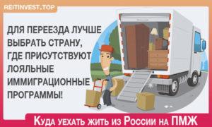 Куда лучше эмигрировать из россии пенсионеру