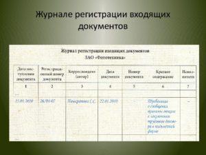 Как правильно регистрировать входящие и исходящие документы 2020