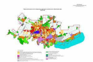 Правила землепользования и застройки г краснодара 2020