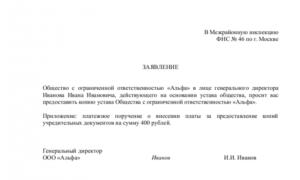 Заявление на дубликат инн юридические лица