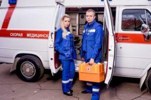 Может ли скорая открыть больничный