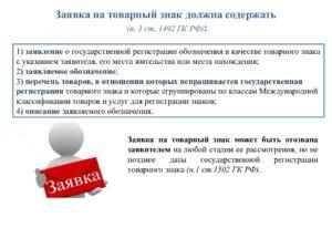 Описание товарного знака примеры для регистрации