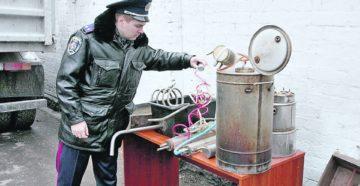 Штраф за продажу самогона